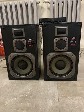 Zestaw głośnikowy,stereo,SANYO SX 225,Unitra