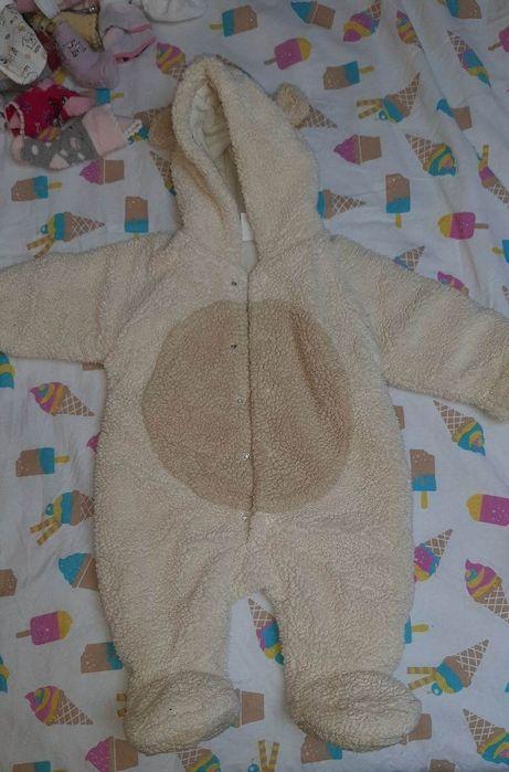 Теплые комбинезоны на девочку от 1 до 3 месяцев Таирово - изображение 1