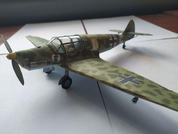 Бумажная модель самолета ВВС Германии Messerschmitt BF-108