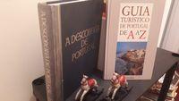 """2 Livros Vintage:""""À descoberta de Portugal""""+""""Guia de Portugal de A a Z"""