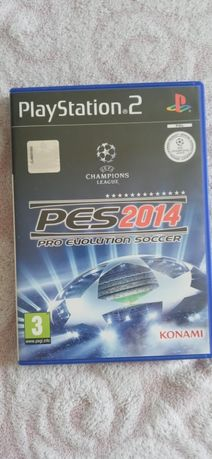 PES 2014 PS2 playstation 2, pro evolution soccer 2014