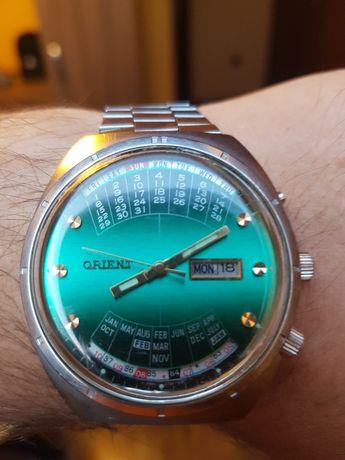Zegarek Orient cesarski patelnia automat zielony sprawny