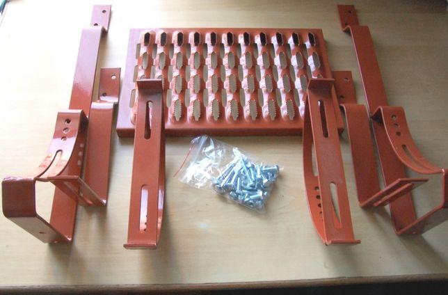 Ława ławka kominiarska 40 cm ocynk wsporniki na łaty śruby dachówka