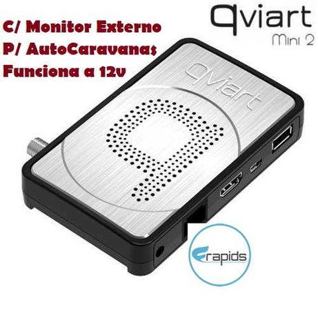 Receptor Satélite HD Qviart Mini 2 + Antena USB WIFI – IKS