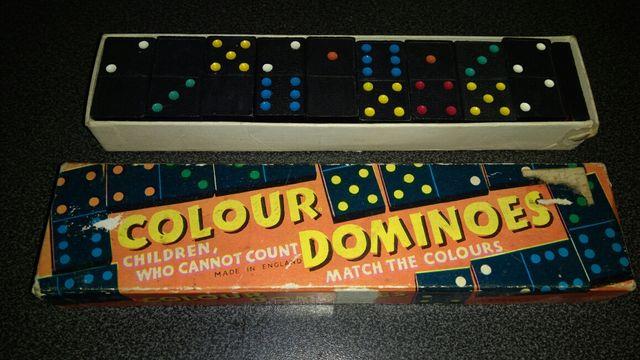 Domino gra Anglia lata 70