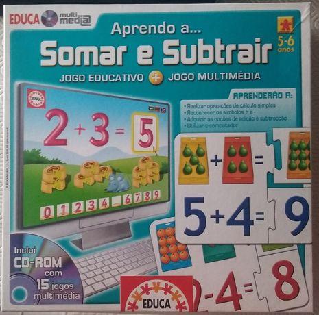 Jogo Somar e Subtrair - Educa Multimédia