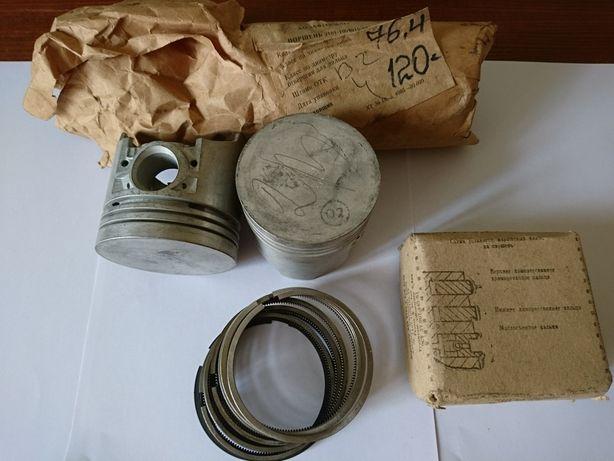 Поршни и кольца на ВАЗ 2101, 2103 (76.4мм В2) производства СССР