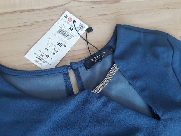 Sukienka MOHITO, roz. M /38, niebieska, nowa