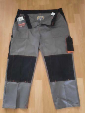 NOWE Spodnie robocze 168-174 wzrost z gumka pas 96-102
