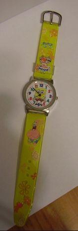 Часы от киндер Губка Боб