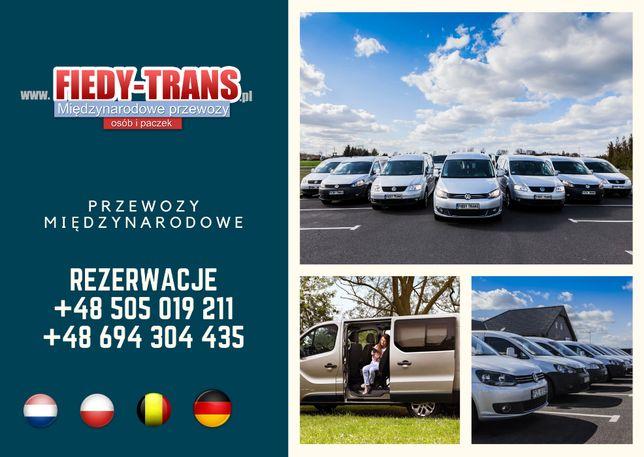 Busy do Niemiec Oborniki, Luksemburg, przewozy osób i paczek do Belgii