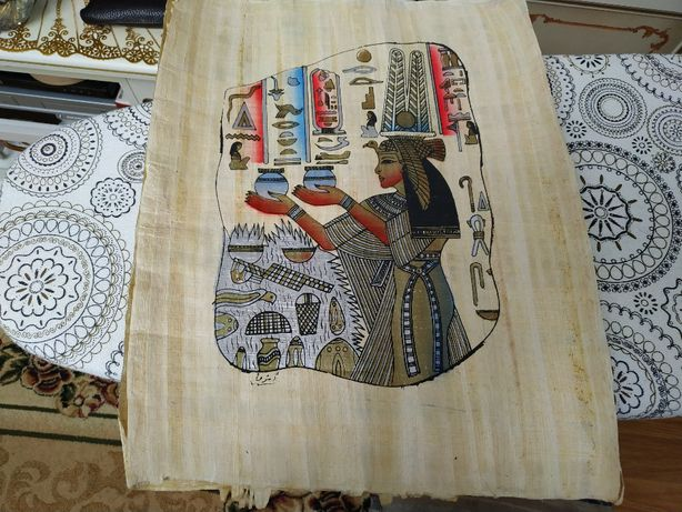 картина папирус Египет 44Х35 см