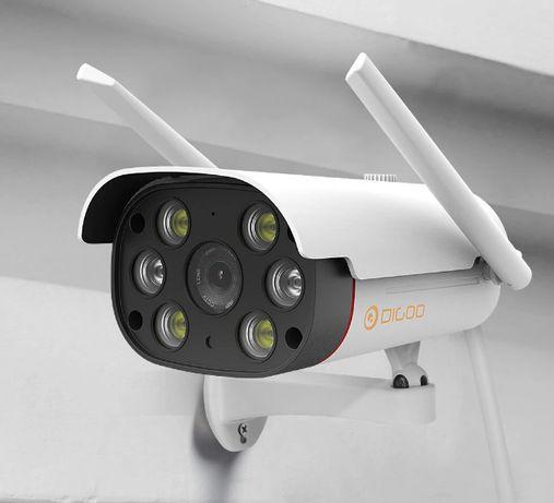 Câmera IP WIFI Video Vigilância * 1080P * WI-FI * Visão Noturna * 3MP