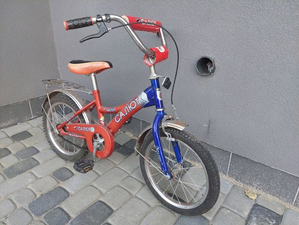 Продам велосипед Салют(на рост до 120см)