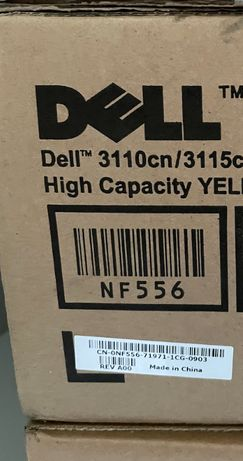 Toner impressora multifunções Dell 3110cn /3115cn NF556 yellow amarelo