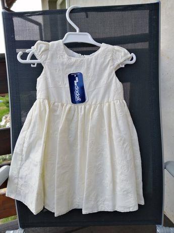 Sukienka na roczek, wesele lub inną uroczystość r.80