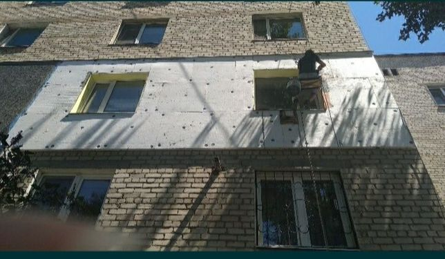 Утепление фасадов и другие высотные работы