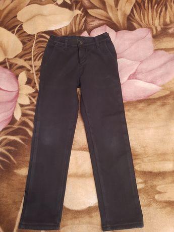 Штаны брюки на флисе рост 128