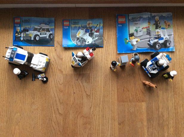 Lego city, policja, 7236, 7235, 7279