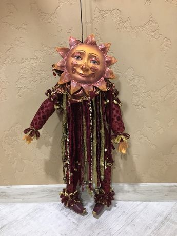 Рождественская кукла Солнце(скорпио).