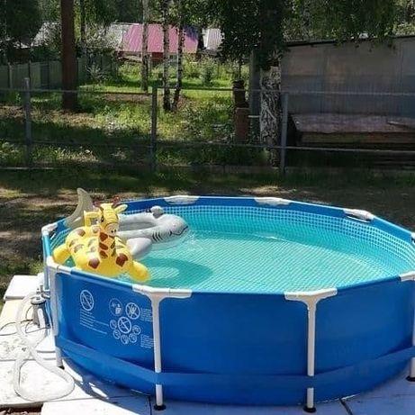 Каркасный бассейн Intex 305х76 см, объем 4485 л