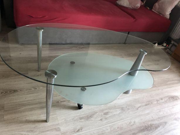 Szklany stolik kawowy
