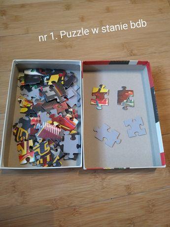 Puzzle i gry na zamianę