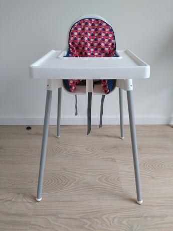 Krzesełko do karmienia Antilop Ikea pasy wkładka