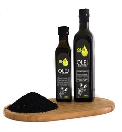 olej z czarnuszki 500ml OLO-VITA