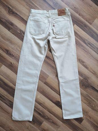 LEVIS 501 spodnie jeansowe roz. 32/34/stan idealny