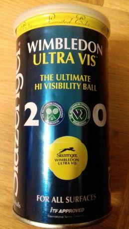Тенісні теннис м'ячі Slazenger Wimbledon ultra hi-vis Колекційні 2000р