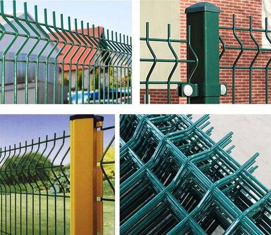 Ogrodzenia panelowe panele ogrodzeniowe płoty panelowe montaż 89zł