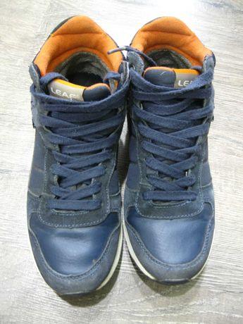 Деми ботинки Leaf р. 37 стелька 24 см.