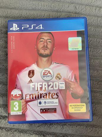 gra FIFA 20 na ps4, w bardzo dobrym stanie