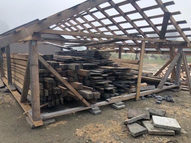 Więźba dachowa  deski szalunkowe