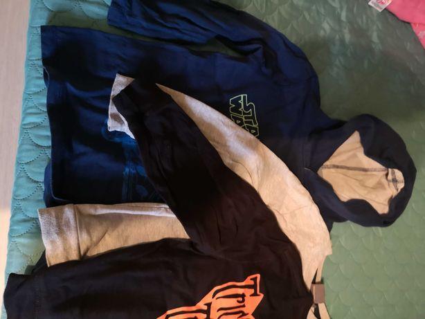 Bluzki chłopięce w rozmiarze 116