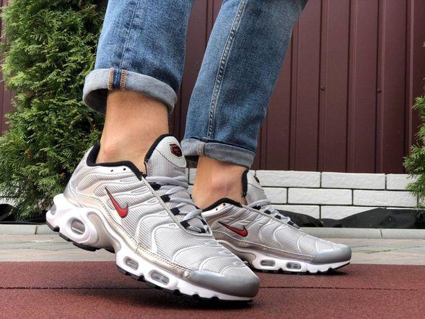 Распродажа Мужские Кроссовки Nike Air Max TN plus 41-46 размер срібний