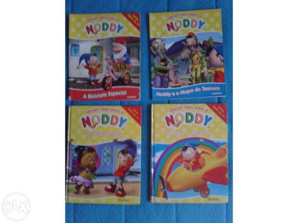 4 Livros Abram Alas para o Noddy