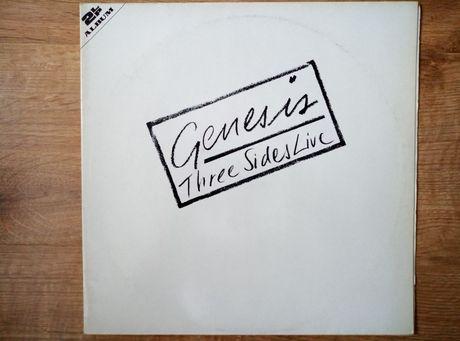 Genesis three sides live 2 x lp.