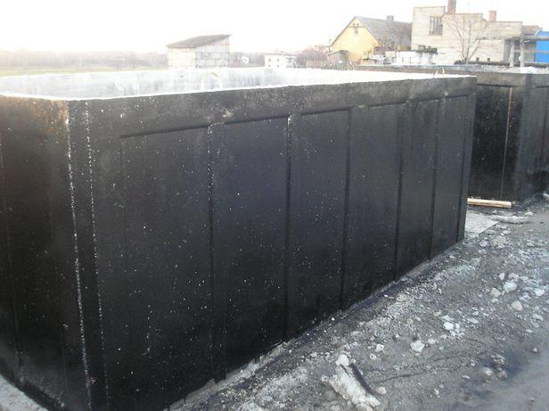 Zbiornik, zbiorniki betonowe na deszczówkę,na wodę opadową – Producent