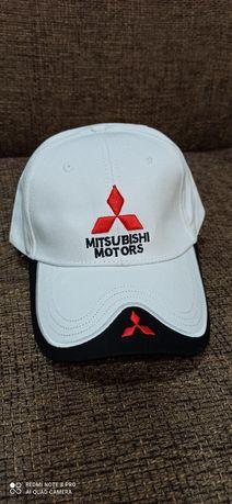 Nowa czapka z daszkiem bejzbolówka logo samochodowe Mitsubishi motors