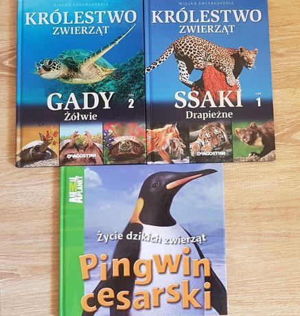 """Zestaw książek ,,Królestwo zwierząt"""" Tom I i II"""