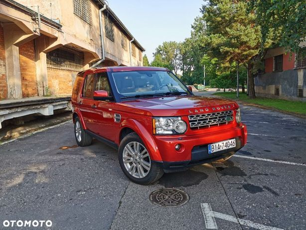 Land Rover Discovery Discovery IV 5.0 HSE DVD Czerwona Perła