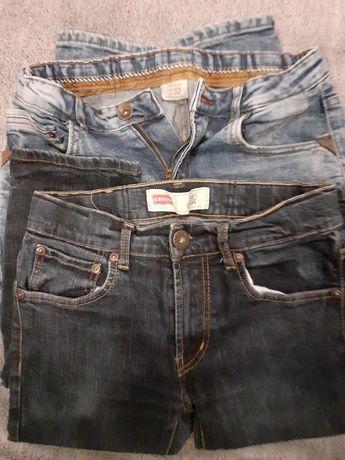 Spodnie chłopięce levis/zara +gratis