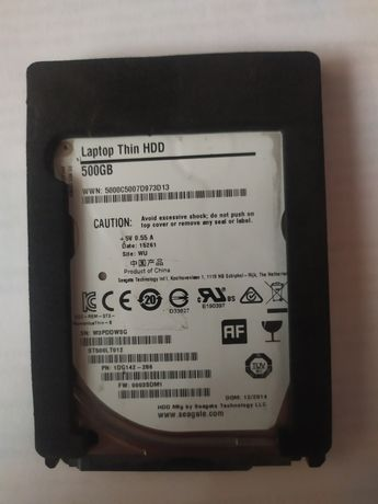 Жёсткий диск Seagate 500GB для ноутбука