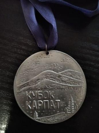 """Медаль"""" Кубок Карпат"""" 1988"""