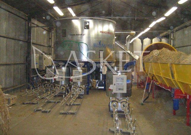 Brykieciarka/linia do słomy Biomasser Multi Maxi Asket