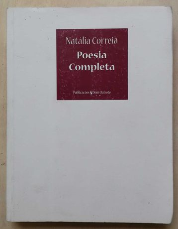 poesia completa, natália correia, dom quixote