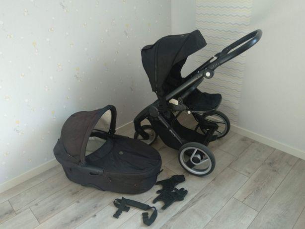 Детская коляска Mutsy Evo (мутси эво) 2 в 1, черный цвет