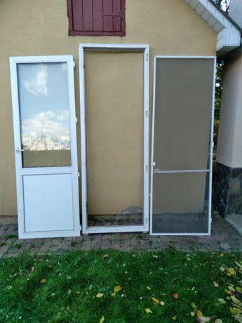 Балконні двері б/у